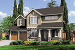 Traditional Two-Story With Craftsman Style