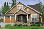 Multiple Gables Accentuate This Craftsman Home Design