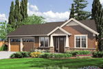 Traditional Styled Craftsman Plan