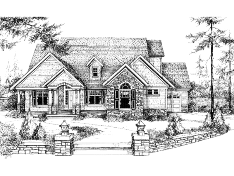 Rustic Traditional Design With Craftsman Impressions