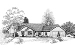 Lavishing Craftsman Styled Ranch Design