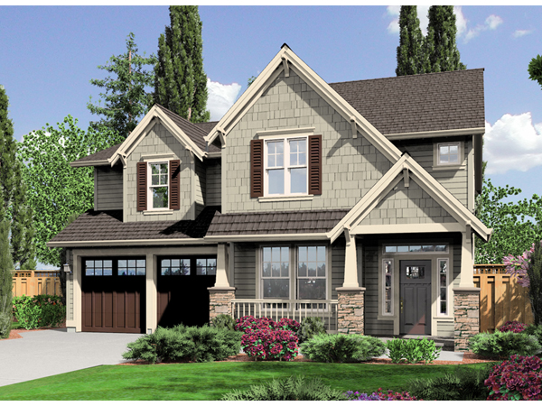 Banbury Craftsman Home Plan 043d 0071 House Plans And More