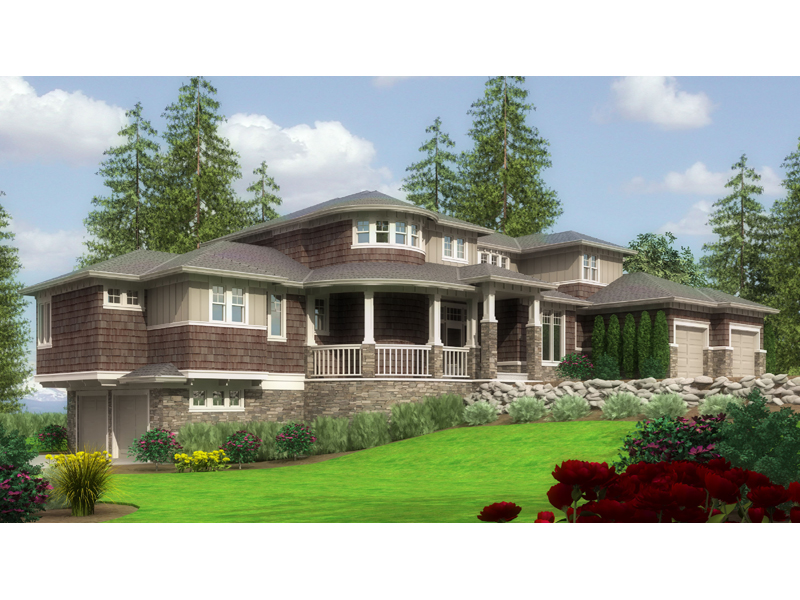 Luxurious Craftsman Style Splendor