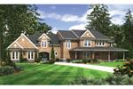 Magnificient Brick Home With Sleek, Quaint Style