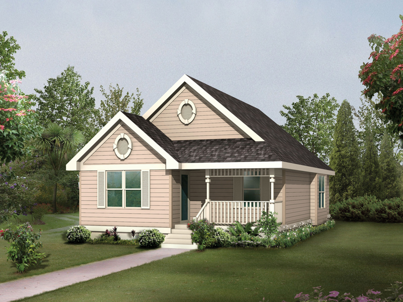 Oaktrail Quaint Cottage Home Plan 045d 0014 House Plans