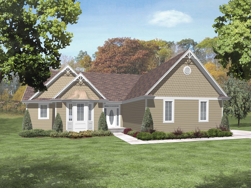 Sovereign One-Story Home Plan 046D-0100 | House Plans and More