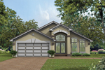 Well-Designed Sunbelt Home Grand Windows And Spacious Feel