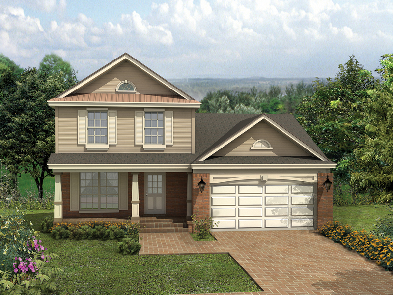 Country House Plan Front of Home - 047D-0014 | House Plans and More