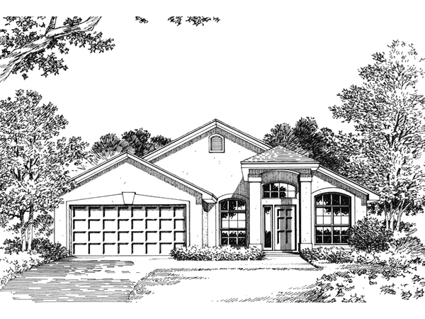 Largo sunbelt home plan 047d 0018 house plans and more for Sunbelt homes