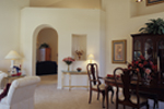 Adobe and Southwestern Plan Living Room Photo 01 - 047D-0022 | House Plans and More