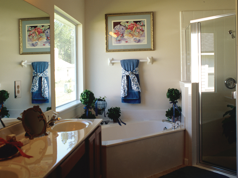 Sunbelt Home Plan Master Bathroom Photo 01 - 047D-0022 | House Plans and More