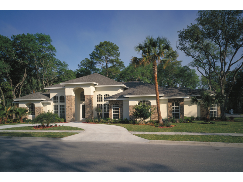 Florida House Plan Front of Home 047D-0046
