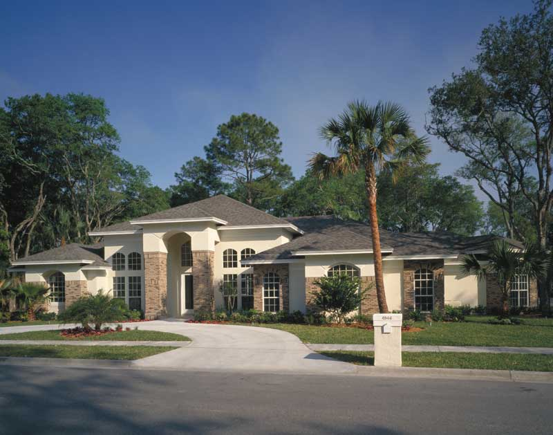 Contemporary House Plan Front Photo 01 047D-0046