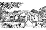 Enchanting Sunbelt Façade With Numerous Special Details