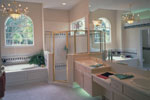 Santa Fe House Plan Master Bathroom Photo 01 - 047D-0048 | House Plans and More