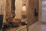 Spanish House Plan Bathroom Photo 01 - 047D-0052 | House Plans and More