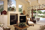 Adobe and Southwestern Plan Family Room Photo 01 - 047D-0052 | House Plans and More