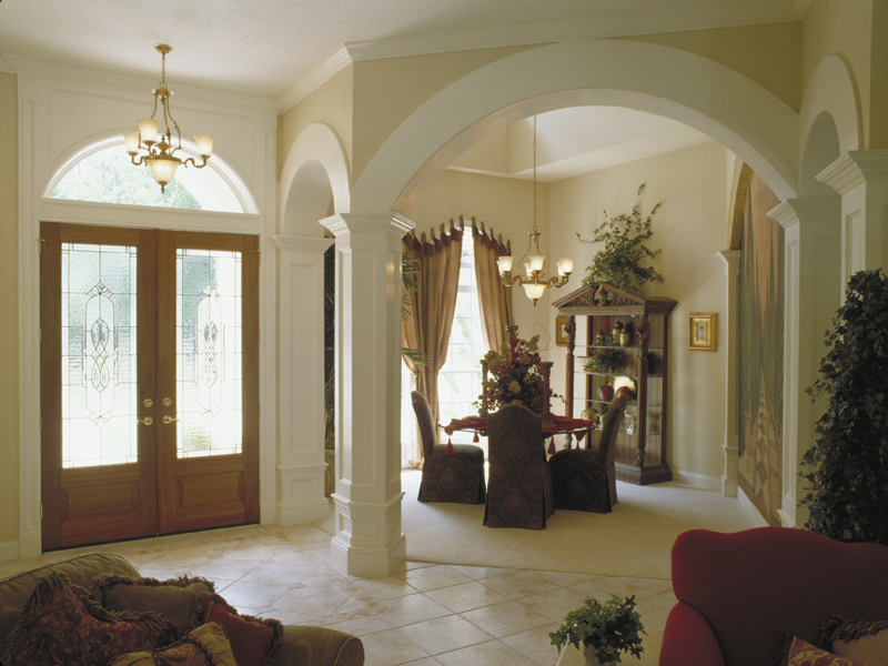 Traditional House Plan Dining Room Photo 02 047D-0056