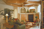Adobe and Southwestern Plan Family Room Photo 02 - 047D-0056 | House Plans and More