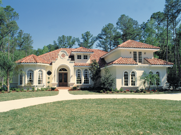 Mediterranean House Plans   House Plans and More