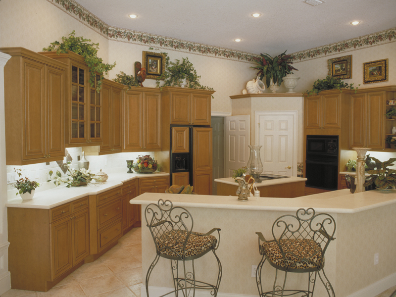 Spanish House Plan Kitchen Photo 01 047D-0056
