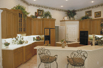 Santa Fe House Plan Kitchen Photo 01 - 047D-0056 | House Plans and More