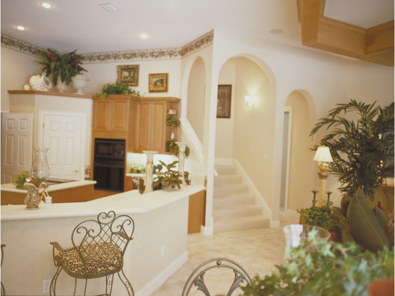 Southwestern House Plan Kitchen Photo 02 047D-0056