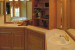 Santa Fe House Plan Master Bathroom Photo 01 - 047D-0056 | House Plans and More