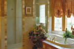 Spanish House Plan Master Bathroom Photo 02 - 047D-0056 | House Plans and More