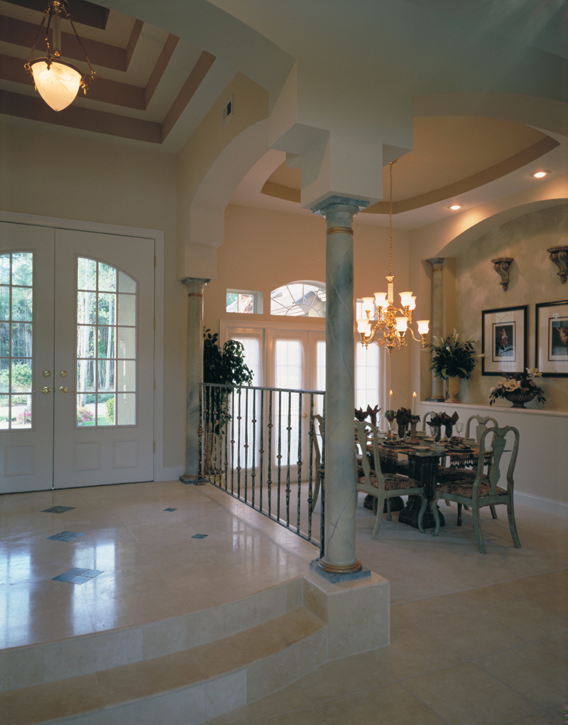European House Plan Dining Room Photo 01 047D-0057
