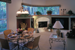 Country French Home Plan Family Room Photo 02 - 047D-0057 | House Plans and More