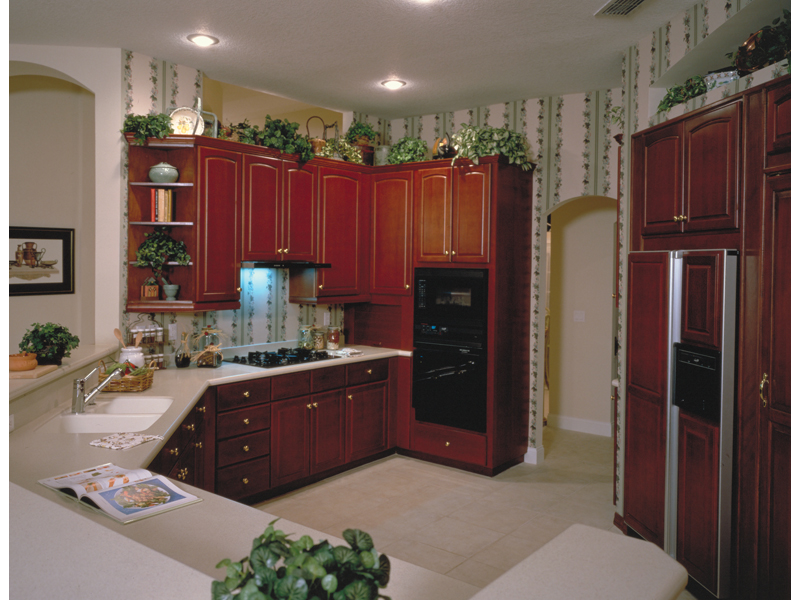 European House Plan Kitchen Photo 01 - 047D-0057 | House Plans and More