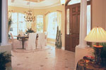 Country French Home Plan Foyer Photo - 047D-0058 | House Plans and More