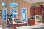 European House Plan Kitchen Photo 01 - 047D-0058 | House Plans and More