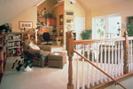 European House Plan Loft Photo 01 - 047D-0058 | House Plans and More