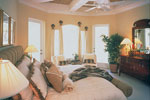 Country French Home Plan Master Bedroom Photo 01 - 047D-0058 | House Plans and More