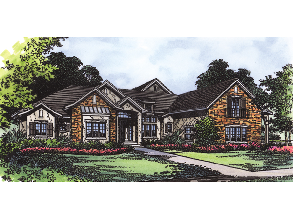 Cross creek rustic country home plan 047d 0062 house for Rustic french country house plans