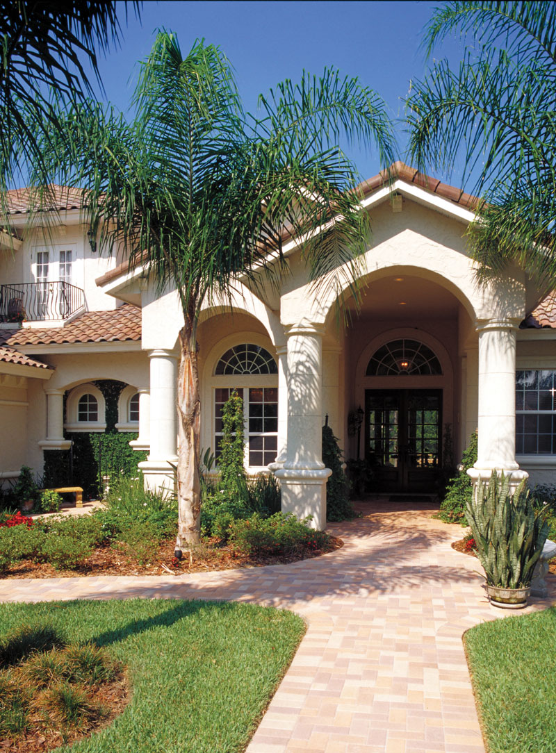 Florida House Plan Entry Photo 01 047D-0064