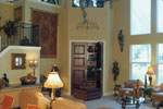 Adobe and Southwestern Plan Family Room Photo 02 - 047D-0064 | House Plans and More