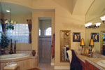 Santa Fe House Plan Master Bathroom Photo 01 - 047D-0064 | House Plans and More