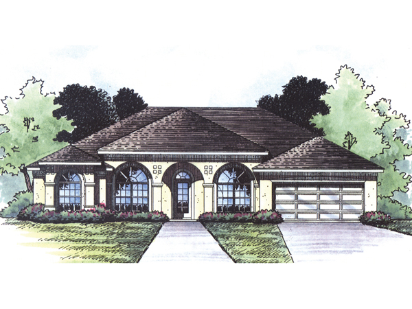 Longboat Key Florida Style Home Plan 047d 0075 House