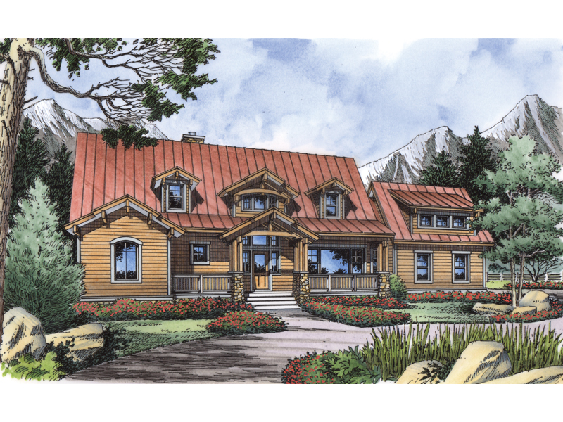 Rustic Country Design With Craftsman And Bungalow Influences