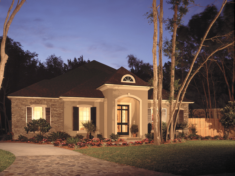 Florida House Plan Front of Home 047D-0083