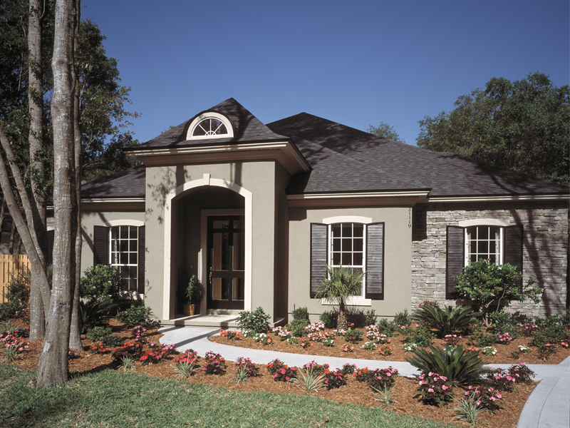 Southwestern House Plan Front Photo 02 047D-0083