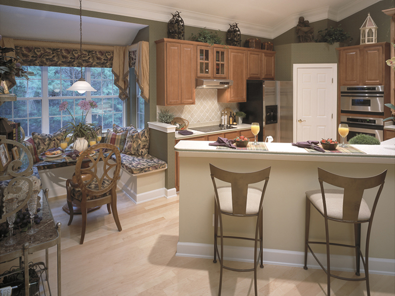 Sunbelt Home Plan Kitchen Photo 01 047D-0083