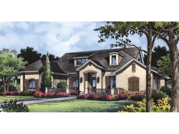 Wellington Hill European Home Plan 047d 0084 House Plans