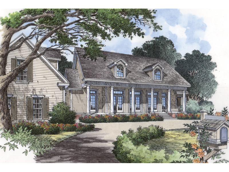 Emerald plantation country home plan 047d 0116 house Southern plantation house plans