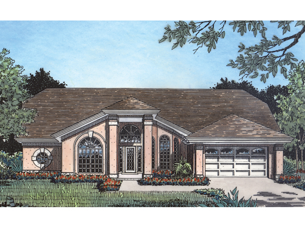 Mt Berry Prairie Ranch Home Plan 047d 0120 House Plans