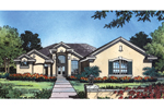 Ranch Stucco Home Has Great Floridian Style