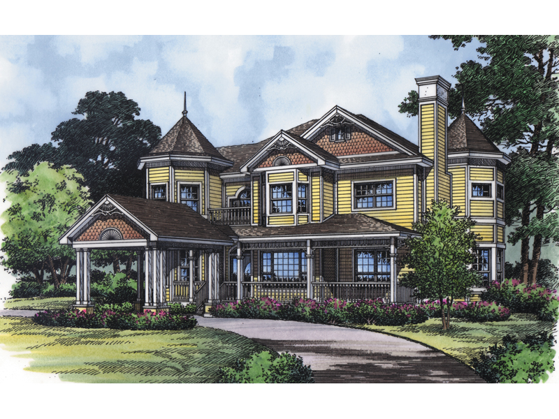 Impressive Victorian Style Home With Shingle Siding